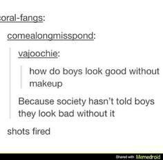 Oh.Makeup boys