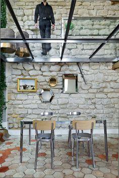 Transparent Glass Floor - Reesch Design