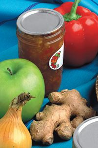 Bernardin Home Canning: apple ginger chutney - I can never have too many recipes for this!