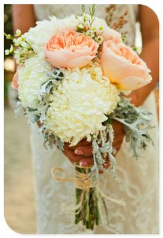 Brides Bouquet. Bridesmaids smaller version.