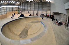 Image Roof Cap, Pre Opening, Skate Park, Skateboarding, Warehouse, Buildings, Chairs, Indoor, Community