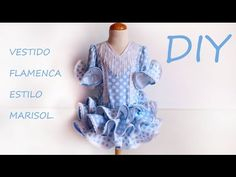 Vestido flamenca de niña estilo Marisol. | Manualidades