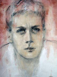 Saatchi Online Artist Fiona Maclean; Painting, Lost Boy Dan #art
