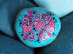 Rock Solid Love Valentine / Painted Rock / by LoveFromCapeCod