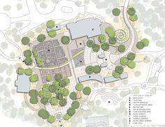 desert landscape site plan - Google Search