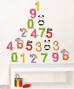 Look at this #zulilyfind! Multiplication Wall Decal Set by Nouvelles Images #zulilyfinds