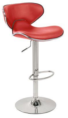 Pair of retro red Carcaso kitchen stools £100