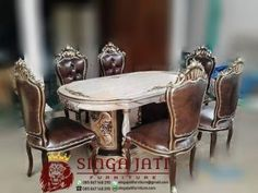Jual Meja Makan Oval Minimalis 6 Kursi Terbaru Dining Chairs, Table, Furniture, Home Decor, Decoration Home, Room Decor, Dining Chair, Home Furniture, Interior Design