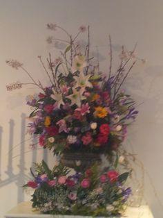 Altar Flowers - Easter 2013