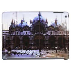 Vintage St. Mark's cathedral in Venice from a 1960's travel photo.