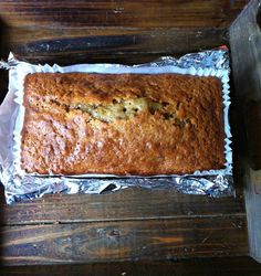 Walnut tea loaf