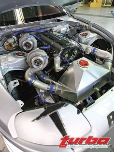 Over the Top Engine Bays. POST THEM UP!