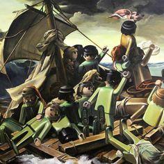 Pierre-Adrien Sollier est un artiste-peintre français dont la technique est irréprochable. Ce jeune peintre s'est lancé dans la « copie », une technique peut prestigieuse d'habitude. Mais les « copies » de Pierre-Adrien Sollier sont incroyables, il remplace tous les personnages par des figurines Playmobiles plus réalistes que jamais.