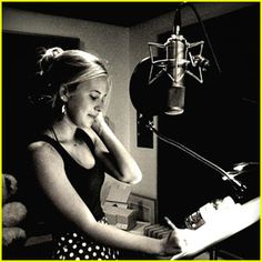 singing studios | Caroline Sunshine: Singing In The Recording Studio!