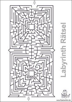labyrinth-rätsel-vektor | labyrinth | hochzeitszeitung
