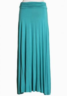 livin' the simple life maxi skirt in jade