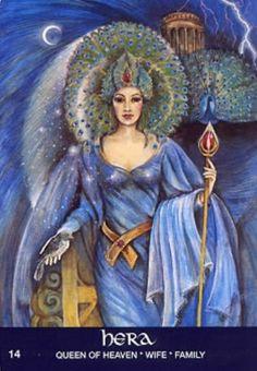 Hera - Queen of the Gods from Greek Mythology, Goddess of ...