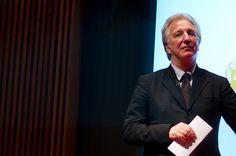 Alan Rickman, BAFTA talk