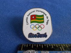 2016 Rio Olympic NOC Pin Togo Dated (Small Scratch)