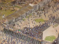 Tides of War: Paint Bench: Battle of the Alamo Diorama Revisted Texas History, History Class, History Books, Visit San Antonio, San Antonio Zoo, Military Diorama, Military Art, Mexican American War, American History