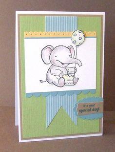 elebration 1st birthday card