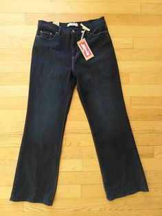 1bfc8eed Women's Levi's Black 512 Perfectly Slimming Bootcut Jeans - Size Plus Pants  Waist