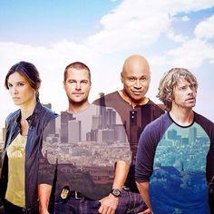#NCISLA: Kensi, G, Sam, & Deeks (Ruah, O'Donnell, LL Cool J, Olsen) #Squad