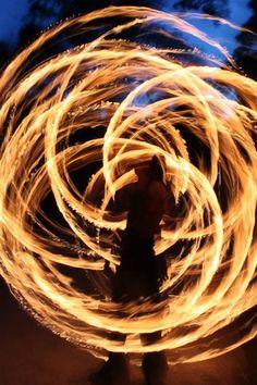 Fire Staff (Lithium & Ingelwarp)  Fire Dancing