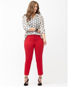 Lena Sexy Stretch ankle pant by Lane Bryant | Lane Bryant