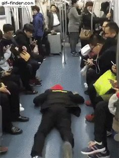 How to get a seat on a train