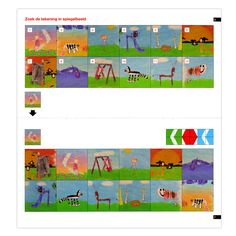 loco, zoek het spiegelbeeld Mini, Kids Learning, Art For Kids, Preschool, Letters, Writing, Education, Creative, Image