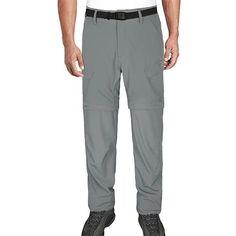 Hardland Men's Lightweight Convertible Pants Tactical Cargo Pants, Black Khakis, 4 Way Stretch Fabric, Long Pants, Nice Body, Workout Pants, Convertible, How To Wear, Men