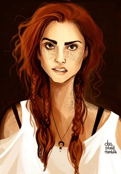 Excellent write up about Ginny!!!!! Art by Nastja www.dasstark.tumblr.com www.instagram.com/dasstark/