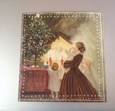 Vintage Used Tasha Tudor Christmas Card Ct 79 21H | eBay