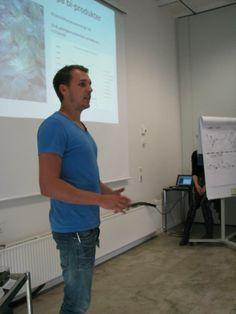 Michael Linnet, præsentation, madspild, agro tech, student challenge