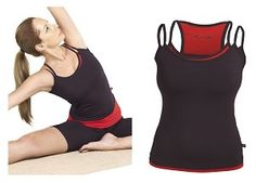 LiveBreatheYoga.com Yoga Apparel -  -   Racer back design offers complete support for all fitness activities.