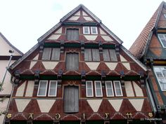 Doors of a building dated with 1544 in Celle, Germany Great Places, Places Ive Been, Anno Domini, Lower Saxony, City Maps, Travel Bugs, Beautiful Architecture, Places To Visit, Germany