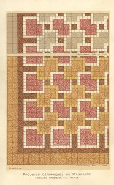 Potential patchwork pattern?