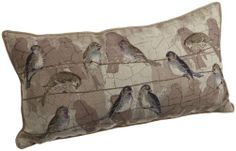 Brentwood 13-Inch-by-24-Inch Bird Tapestry Pillow, Bird on a Wire