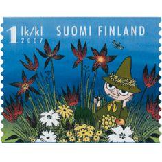 Postimerkki: Muumilaakson kesä - Nuuskamuikkunen | Suomen postimerkit