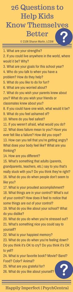 Kids Discover 26 Questions to Help Kids Know Themselves Better Gentle Parenting, Parenting Advice, Kids And Parenting, Foster Parenting, Parenting Classes, Parenting Styles, Parenting Quotes, Raising Kids, Social Skills