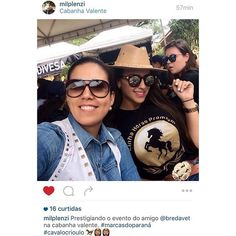Regram @milplenzi. A super conceituada veterinária de reprodução eqüina escolheu o nosso #cuzco para curtir um evento no Paraná! #Coleteria | sempre♡ #colete #tachas #vest www.coleteria.com.br♡