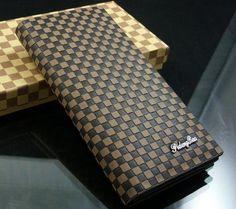 Excellent Mens Leather Long Wallet