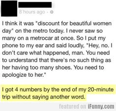 I Think It Was discount For Beautiful Women Day