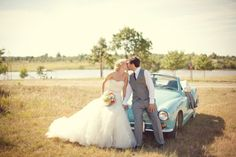 pics with old timey car! Vintage-Oklahoma-Cabin-Wedding-by-Imago-Vita-Photography-10