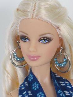 OOAK Handmade Barbie Model Muse Sundress and Earrings by Kristina | eBay