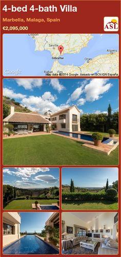 4-bed 4-bath Villa in Marbella, Malaga, Spain ►€2,095,000 #PropertyForSaleInSpain