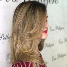 Una melena elegante y un color ideal 😍 ¡¡Clientas que enamoran!! #cambiodecolorbyevapellejero #evapellejero #hair #style #zgz #zaragozaisstyle #hairstyle #zaragoza
