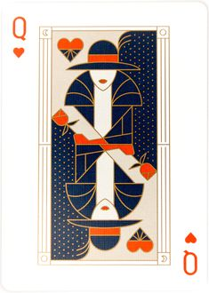 - Playing Cards Theory 11 Jimmy Fallon The tonight show - Queen of hearts Cool Playing Cards, Vintage Playing Cards, Playing Card Design, Heart Illustration, Graphic Design Illustration, Landscape Illustration, Jimmy Fallon, Queen Of Hearts Card, Show Queen