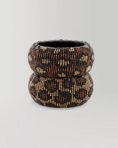 exotic seed bead bangles from bebe !